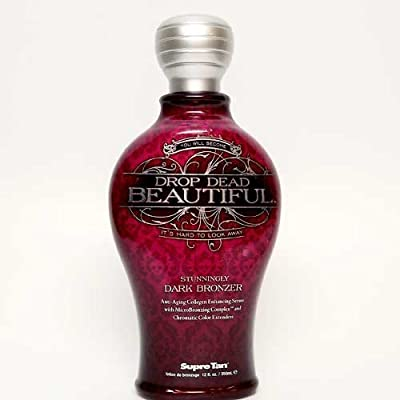 Supre DROP DEAD BEAUTIFUL Stunningly Dark Bronzer - 12 oz.