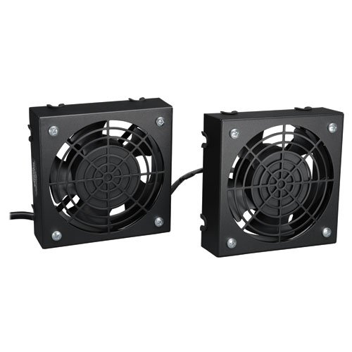 TRIPP LITE Wallmount Rack Enclosure Cooling Roof Fan Kit 120V 5-15P SRFANWM B