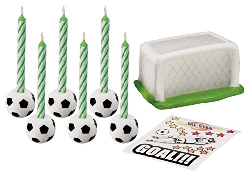 Wilton Soccer Topper Set with Decals - 1