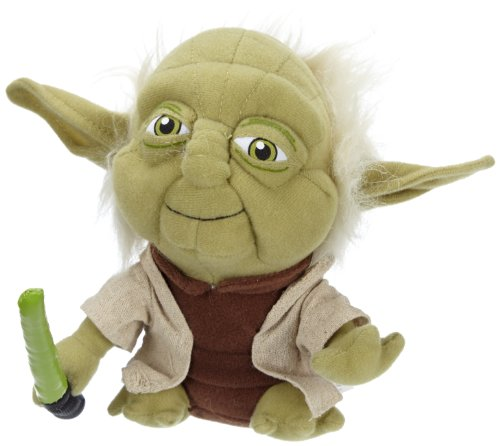 Comic Images Super Deformed Yoda Plush Toy - 1