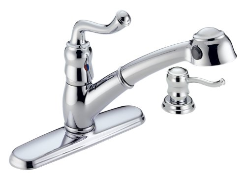 Cheap Kitchen Faucet Repair: Delta Faucet 473-SD Saxony Single ...