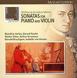 モーツァルト大全集 第12巻:ピアノとヴァイオリンのためのソナタ全集(全40曲)