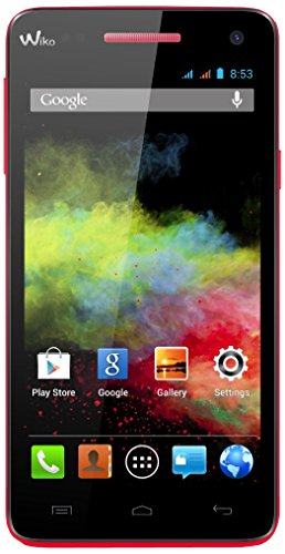 Wiko Rainbow Smartphone Bluetooth Android 4 Go Coral