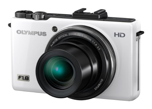 Olympus XZ-1 Digital Camera - White (10MP, 4x i.Zuiko Wide Optical Zoom) 3 inch LCD
