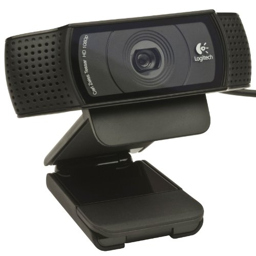 Logitech C920 USB HD Pro Webcam with Auto Focus and Microphone
