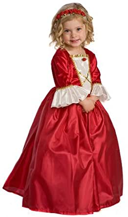 Red Girl's Winter Beauty Princess Costume Large