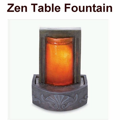 Zen Table Top Water Fountain