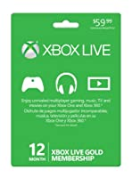 Microsoft Xbox LIVE 12 Month Gold Card from Microsoft Software