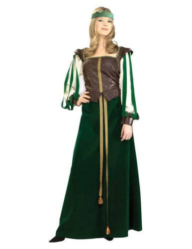 Maid Marion Adult Costume Sm 2-6 Adult Womens Costume