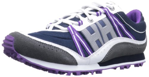 Helly Hansen Women's Trail Cutter 5 Trail Running Shoe,Navy/White/Mid Grey/Essential Purple,7.5 M US