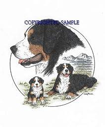 Bernese Mtn. Dog - Trio Image by Cindy Farmer