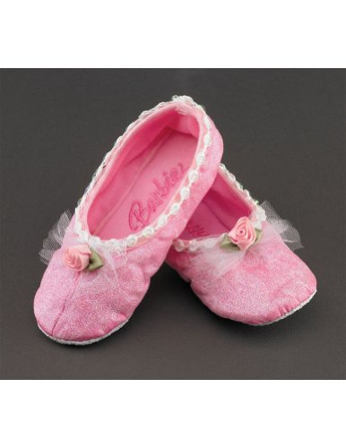 girls - Kids-Child Barbie Ballet Slippers Halloween Costume