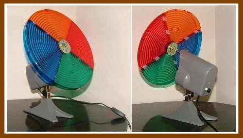 Vintage Color Wheel for Artificial Christmas Tree Yester Years