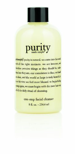 Philosophy Purity Made Simple One-Step Facial Cleanser, 8 Ounce