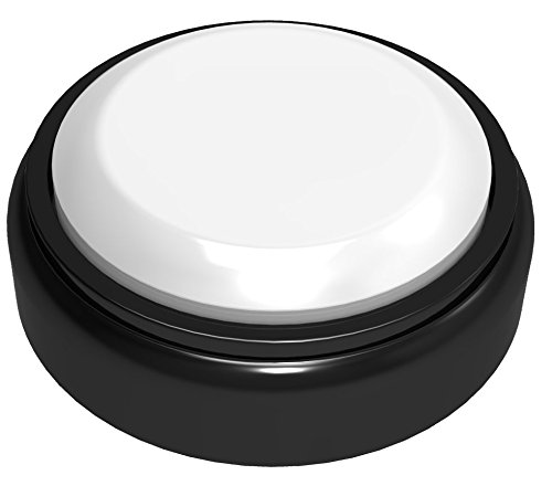 CUSTOM EASY BUTTON - Surprise - Record Any 10 SecondSurprise Message (Color: Black and White)