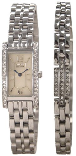 Citizen Ladies Eco-Drive Watch & Bracelet Set Eg20-20-61A
