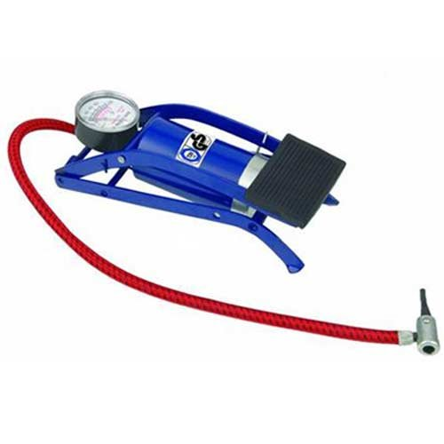 Diswa Air Pressure Foot Pump Air Pump For Bike, Car , Motorcycle ,Balls, etc available at Amazon for Rs.226