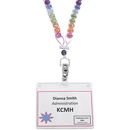 "Counting Necklace 39""-Summer Garden"