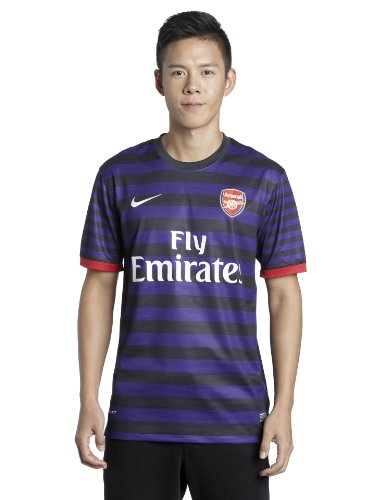 Arsenal FC 12/13 S/S Away Replica Football Shirt - size M