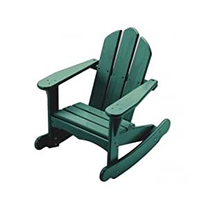 Amazon.com - Kids Wood Rocking Chair for Children Wooden Green -