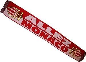 Echarpe ASM - Collection Officielle Football AS MONACO - ASM - Ligue 1 - Taille 138 cm