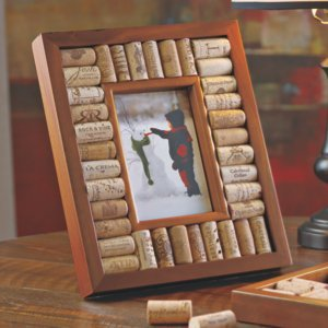 Wine Cork Picture Frame Kit -4X6 Photo front-566902