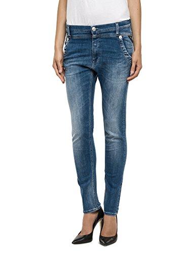 Replay Damen Slim Jeanshose Denice, Gr. W32, Blau (Blue Denim 9) thumbnail