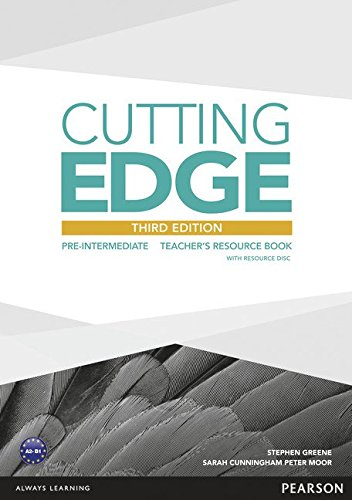Cutting Edge 3rd Edition Pre-Intermediate Teacher's Book and Teacher's Resources Disk Pack