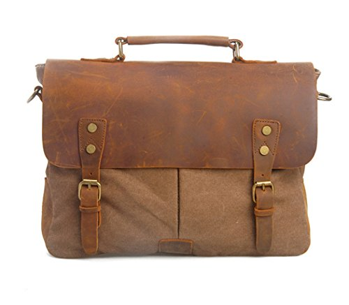 imayson-men-womens-vintage-canvas-leather-schoolbag-shoulder-crossbody-messenger-bagcoffee