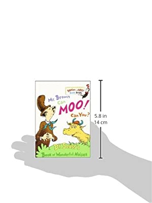 Mr. Brown Can Moo, Can You : Dr. Seuss's Book of Wonderful Noises (Bright and Early Board Books)