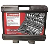 """Craftsman Mechanic's Tool Set 193 Piece - 1/4"""", 3/8"""" and 1/2"""" Drive - Home & Professional"""