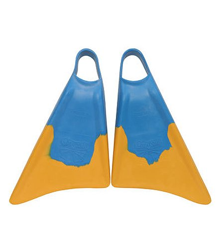 Churchill Makapuu Swim Fins Blye/Yellow Size Small. Great for bodyboarding, bodysurfing, training снежкодел arctic force wham o snowball maker 39034с