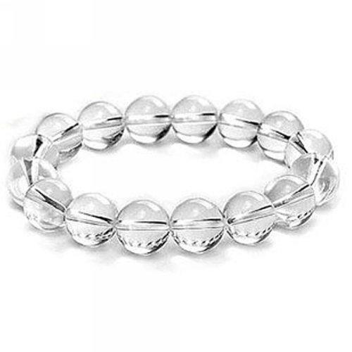 merdia-weisse-kristall-10mm-kugel-stretch-armband