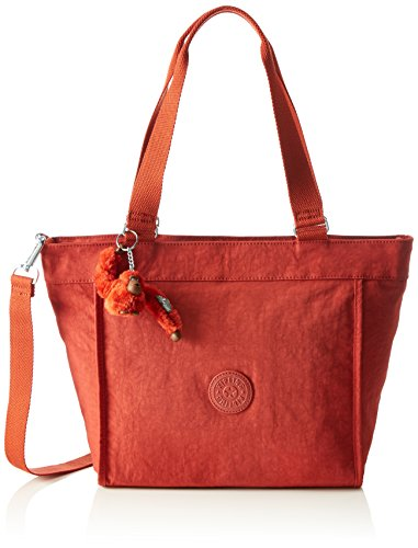 Kipling New S, Shopper Donna, Rosso (78G Red Rust), 42x27x13 cm (B x H x T)