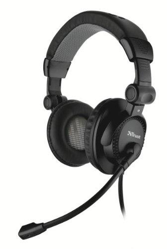 Trust Como Headset, faltbar, schwarz