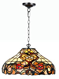 Tiffany Style Ceiling Light by Zhimei