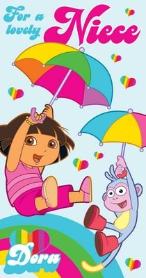 Dora The Explorer - Niece Birthday Card