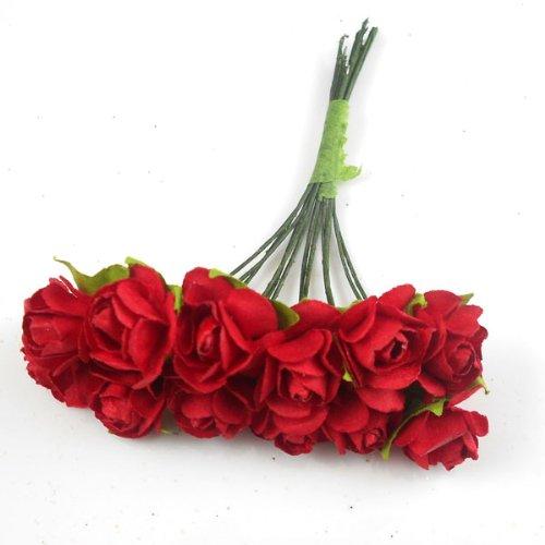 144-rosas-rojas-de-papel-mulberry-15mm-para-manualidades-album-de-recortes-bodas