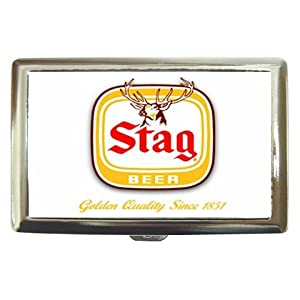 amazoncom stag beer logo cigarette case other