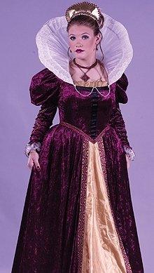 Elizabethan Queen Costume
