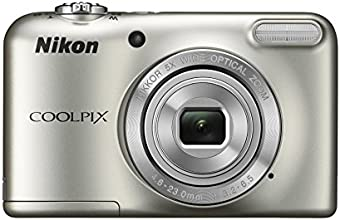 Nikon COOLPIX L31 Compact Digital Camera - (16.1 MP, 5x Optical Zoom) 2.7-Inch LCD - Silver