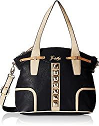 Gussaci Italy Women's Handbag (Black) (GC301)