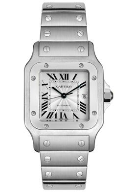Cartier Men's W20055D6 Santos Galbee Automatic Watch