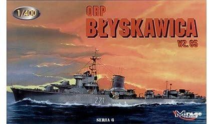 Mirage Hobby 1:400 - ORP 'BLYSKAWICA' wz. 65 - MIR40013