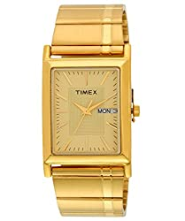 Timex Classics Analog Gold Dial Mens Watch - L501