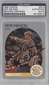 Don Nelson PSA DNA Certified Auto AUTHENTICATED AUTHENTIC Golden State Warriors... by Hoops