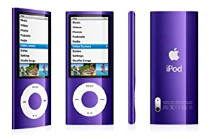 """Apple iPod Nano (5ème Génération) Ecran 2,2 """"  Caméra 8 Go Violet"""