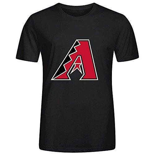 mlb-arizona-diamondbacks-team-logo-crew-neck-men-custom-t-shirt-design-medium