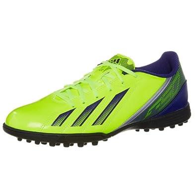 Adidas F5 TRX Astro Turf Football Boots - Neon Yellow 8.5 UK