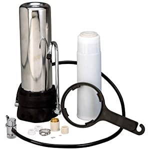 54A Countertop Stainless Steel Water Filter by BNF
